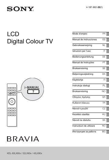 Sony KDL-52LX904 - KDL-52LX904 Istruzioni per l'uso Rumeno