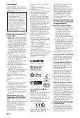 Sony KDL-52LX904 - KDL-52LX904 Istruzioni per l'uso Rumeno - Page 2
