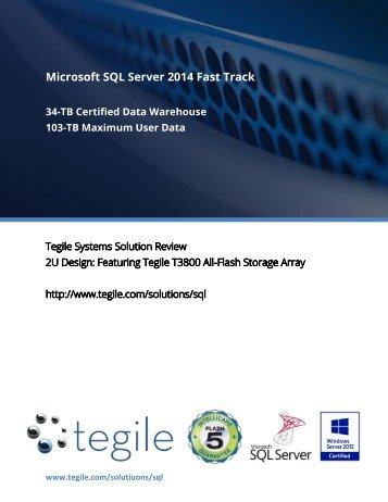 Microsoft SQL Server 2014 Fast Track
