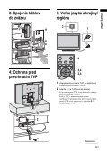 Sony KDL-32S2000 - KDL-32S2000 Istruzioni per l'uso Slovacco - Page 5