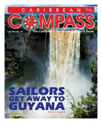 SAILORS GUYANA - Caribbean Compass