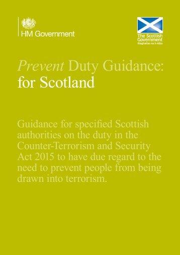 for Scotland