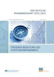 DER DEUTSCHE PFANDBRIEFMARKT 2012 | 2013 ... - DG Hyp