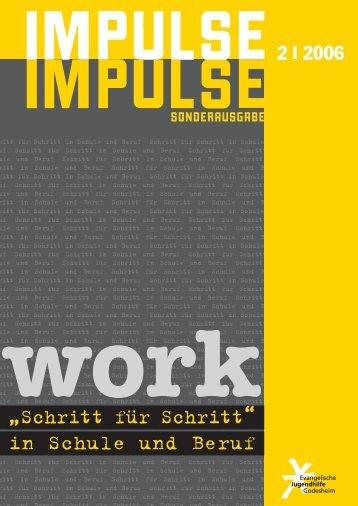 impulse2 2006 impulse - Evangelische Jugendhilfe Godesheim