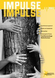 Familienanaloge Wohnformen - Evangelische Jugendhilfe Godesheim