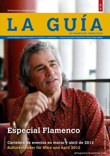 Especial Flamenco - La Guía de Frankfurt/RheinMain
