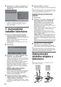 Sony KDL-32D2600 - KDL-32D2600 Istruzioni per l'uso Ceco - Page 6