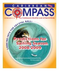Predictions for Sailing Season 2008-2009 - Caribbean Compass