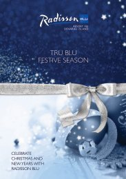 Radisson Blu Resort Fiji Christmas Brochure