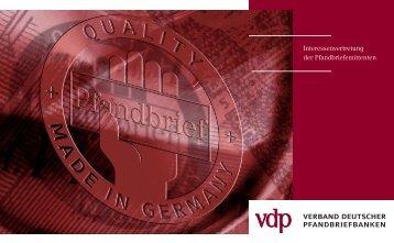 vdp-Imagefolder - Verband deutscher Pfandbriefbanken