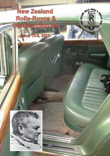 New Zealand Rolls-Royce & Bentley Club Inc
