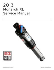 Monarch RL Service Manual - Cycle Service Nordic