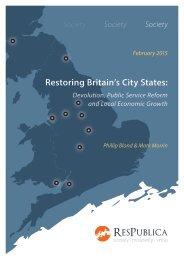 Restoring Britain's City States