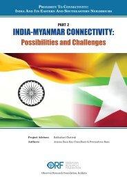 India-Myanmar Connectivity