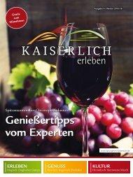 Kaiserlich erleben, Ausgabe 4/2015