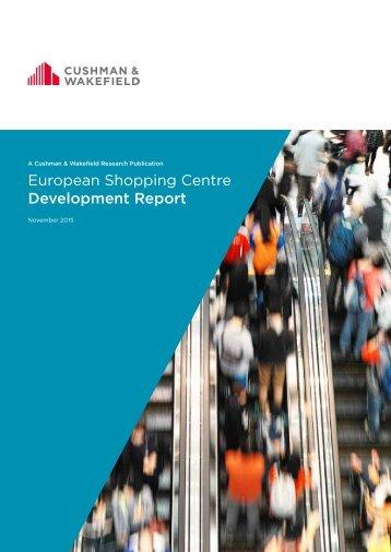 European Shopping Centre Development Report