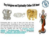 Buy Religious and Spirituality Online Gift Item