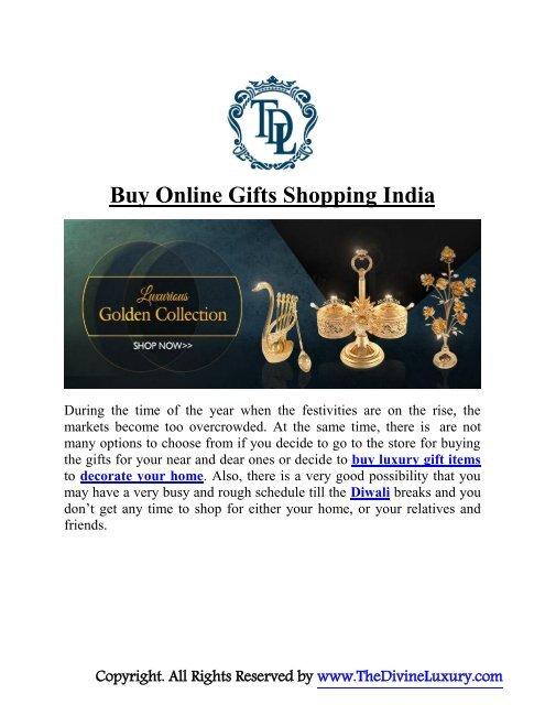 Buy Online Gift India