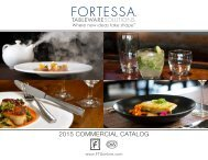 Fortessa Tableware Solutions