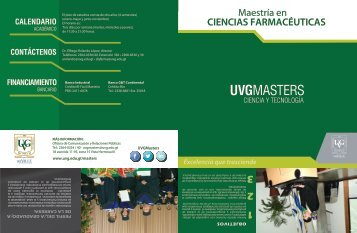 trifoliar - Universidad del Valle de Guatemala