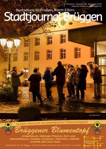 Stadtjournal Brüggen November 2015