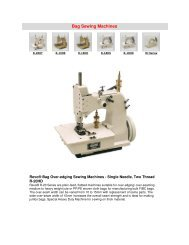 Bag Sewing Machines - Atco Maart