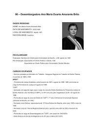 86 – Desembargadora Ana Maria Duarte Amarante Brito