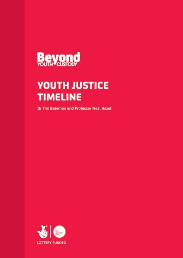 YOUTH JUSTICE TIMELINE