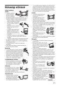 Sony KDL-46V2500 - KDL-46V2500 Istruzioni per l'uso Ungherese - Page 7
