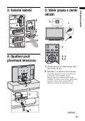 Sony KDL-46V2500 - KDL-46V2500 Istruzioni per l'uso Ceco - Page 5