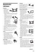 Sony KDL-46V2500 - KDL-46V2500 Istruzioni per l'uso Ceco - Page 7
