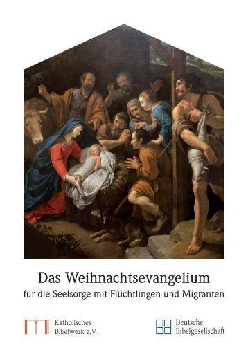 Das Weihnachtsevangelium