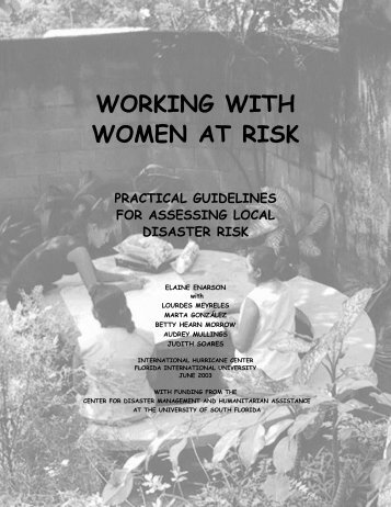 Working with Women at Risk - International Hurricane Research ...
