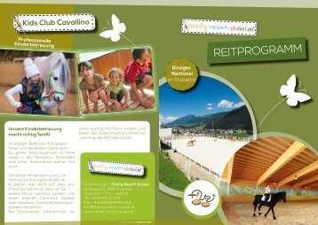 Reitprogramm Family-Resort-Stubai