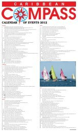 CALENDAR OF EVENTS 2012 - Caribbean Compass
