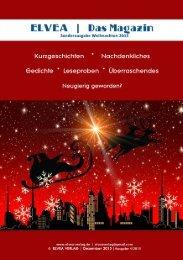 ELVEA Weihnachtsmagazin 2015