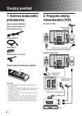 Sony KDL-46S2030 - KDL-46S2030 Istruzioni per l'uso Slovacco - Page 4