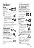 Sony KDL-46S2030 - KDL-46S2030 Istruzioni per l'uso Slovacco - Page 7