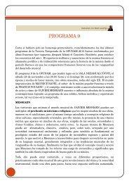 PROGRAMA 9