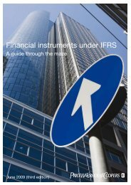 Financial instruments under IFRS - PwC