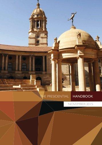 THE PRESIDENTIAL HANDBOOK NOVEMBER 2015