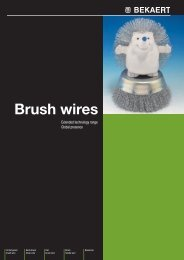 Brush wires - Bekaert