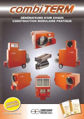 Chauffage à air chaud CombiTERM - GVZ Rossat AG