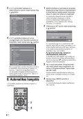 Sony KDL-26S2030 - KDL-26S2030 Istruzioni per l'uso Ungherese - Page 6