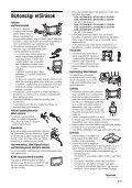 Sony KDL-26S2030 - KDL-26S2030 Istruzioni per l'uso Ungherese - Page 7