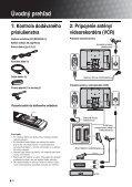Sony KDL-32S2510 - KDL-32S2510 Istruzioni per l'uso Slovacco - Page 4