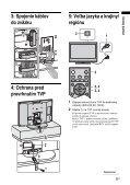 Sony KDL-32S2510 - KDL-32S2510 Istruzioni per l'uso Slovacco - Page 5