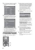 Sony KDL-32S2510 - KDL-32S2510 Istruzioni per l'uso Ungherese - Page 6