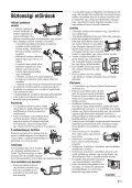 Sony KDL-32S2510 - KDL-32S2510 Istruzioni per l'uso Ungherese - Page 7