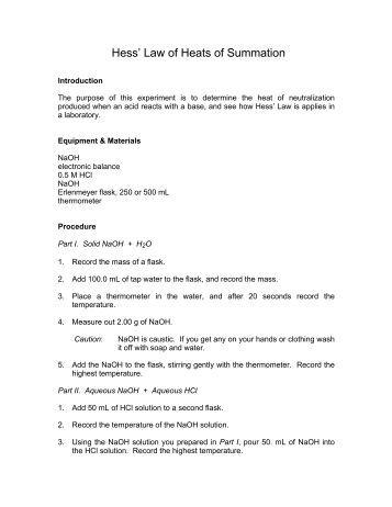 Hess's Law Worksheet.pdf